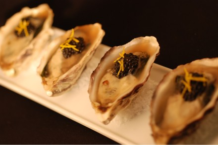 TB - Oysters and wakame, Sakura jelly